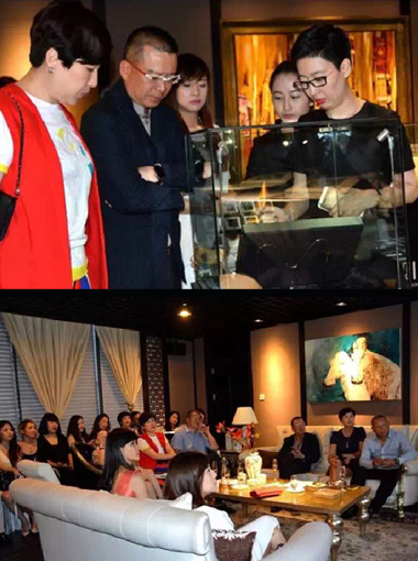 Jewelry Exhibition at The Chinese Businessmen's Teahouse