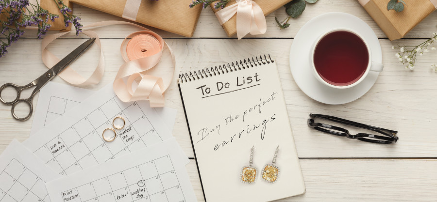 Top 5 Earring Pairs To Match Your Wedding Dress
