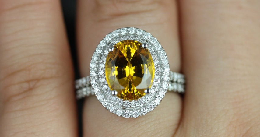 Who is a Colored Diamond Engagement Ring Suitable For?