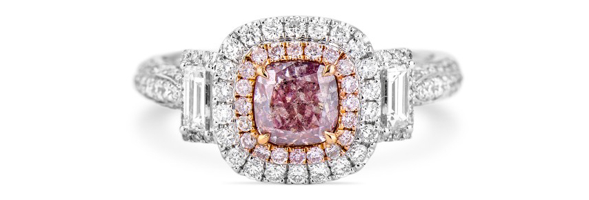 Everything You Need to Know About Purple Diamond Engagement Rings