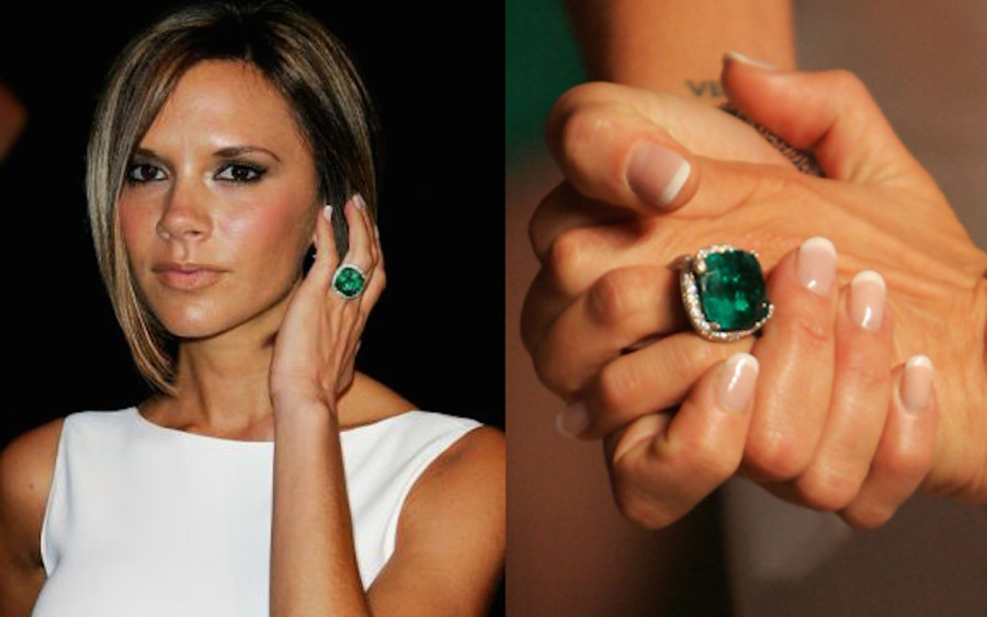Celebrities Who Opted For Fancy Color Diamond Engagement Rings