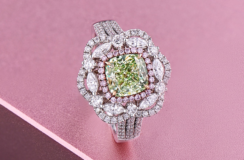 WHICH OF THE COLORED DIAMONDS IS MOST EXPENSIVE1@1x