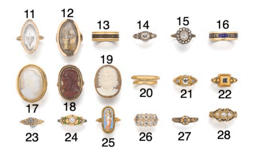 The Long and Colorful History of Memorial Jewelry