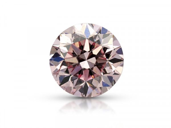 0.30 Carat, Fancy Purplish Pink Diamond, Round shape, SI1 Clarity, ARGYLE Certified, 6177721210