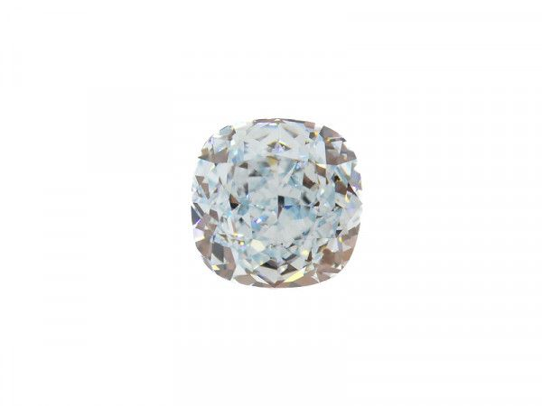 1.01 Carat, Fancy Greenish Blue Diamond, Cushion shape, VVS2 Clarity, GIA Certified, 2165582310