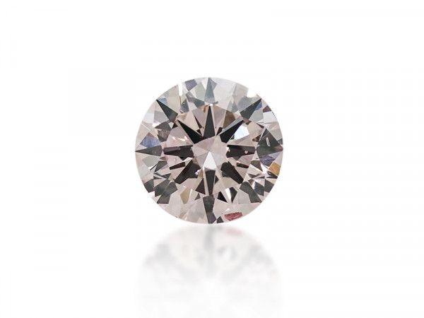 0.32 Carat, Fancy Light Pink Diamond, Round Modified shape, SI2 Clarity, GIA Certified, 5171480315
