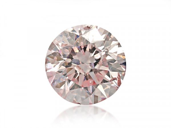 0.36 Carat, Fancy Pink Diamond, Round shape, I1 Clarity, ARGYLE Certified, 2175827867