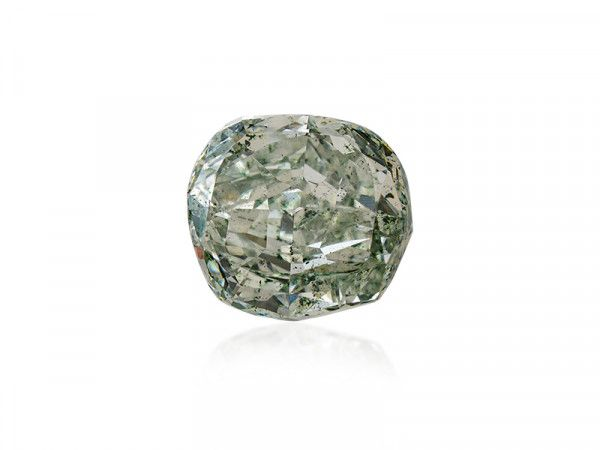 2.15 Carat, Fancy Gray Diamond, Cushion shape, SI2 Clarity, GIA Certified, 2195894447