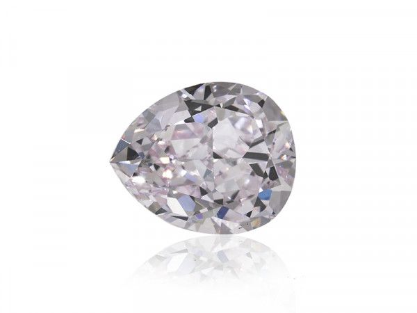 1.00 Carat, Very Light Pink Diamond, Pear shape, VVS2 Clarity, GIA Certified, 5182582073