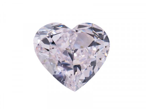 1.01 Carat, Faint Pink Diamond, Heart shape, VS1 Clarity, GIA Certified, 1196499572