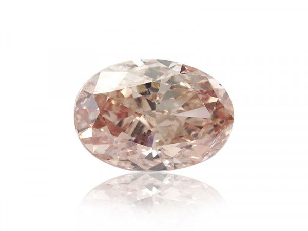 0.72 Carat, Fancy Brown Diamond, Oval shape, SI2 Clarity, GIA Certified, 6213133989