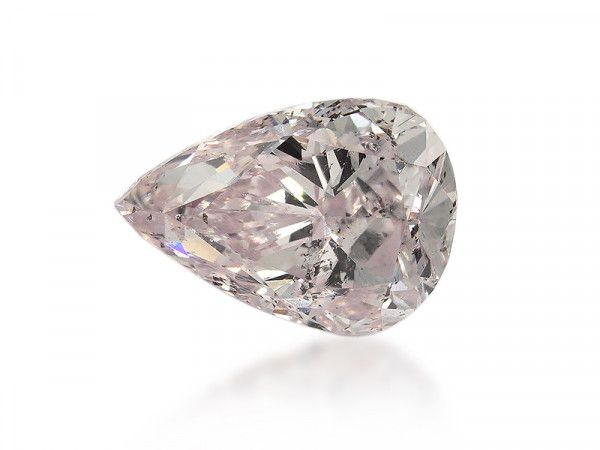 0.51 Carat, Light Pink Diamond, Pear shape, I1 Clarity, GIA Certified, 22036773077