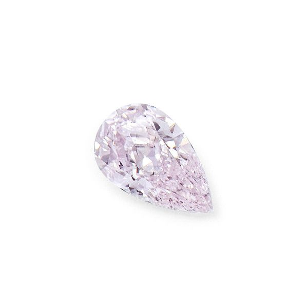 0.21 Carat, Very Light Pinkish Brown Diamond, Pear shape, SI2 Clarity, GIA Certified, 2201764496