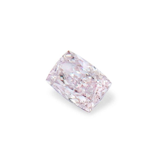 0.20 Carat, Light Pinkish Brown Diamond, Cushion shape, I1 Clarity, GIA Certified, 6207764302