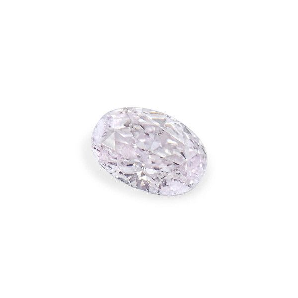 0.20 Carat, Faint Pinkish Brown Diamond, Oval shape, GIA Certified, 2205764508
