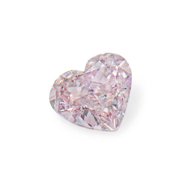 0.36 Carat, Fancy Brownish Pink Diamond, Heart shape, SI2 Clarity, GIA Certified, 1248264030