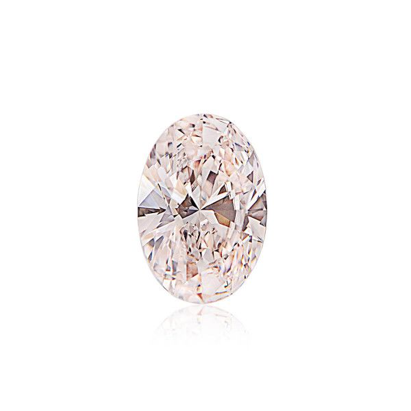 0.50 Carat, Very Light Pink Diamond, Oval shape, VS2 Clarity, GIA Certified, 6265969611