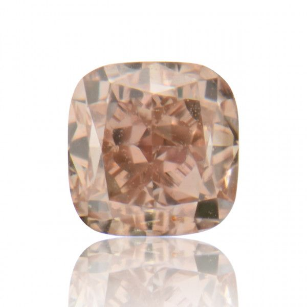 0.66 Carat, Fancy Orangy Pink Diamond, Radiant shape, SI1 Clarity, GIA Certified, 1162871776