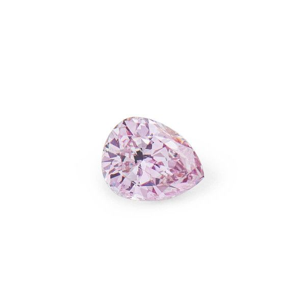 0.31 Carat, Fancy Purplish Pink Diamond, Pear shape, I2 Clarity, GIA Certified, 6202462115