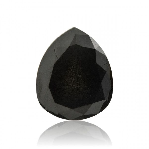 3.77 Carat, Fancy Black Diamond, Pear shape, GIA Certified, 2165453518