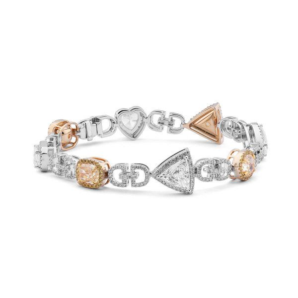 White Diamond Bracelet, 10.44 Ct. TW, Oval shape, GIA Certified, JCBF05394307