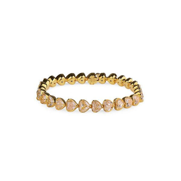 Fancy Yellow Diamond Bracelet, 26.97 Carat, Heart shape
