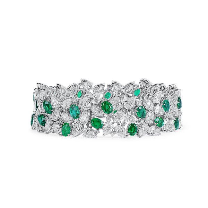 Natural Green Emerald Bracelet, 10.75 Ct. (36.99 Ct. TW)