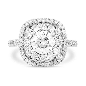 White Diamond Ring, 2.15 Ct. TW, Round shape, EGL IL Certified, EGLOO10470173