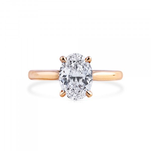 White Diamond Ring, 2.01 Carat, Oval shape, GIA Certified, 1358965843