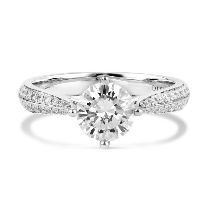 White Diamond Ring, 2.16 Ct. TW, Round shape, GIA Certified, 2171822873