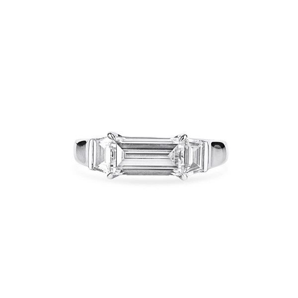 White Diamond Ring, 1.51 Ct. (1.92 Ct. TW), Radiant shape, GIA Certified, 1297944457