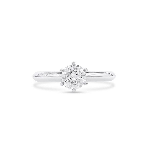 White Diamond Ring, 0.70 Carat, Round shape, GIA Certified, 2328568002