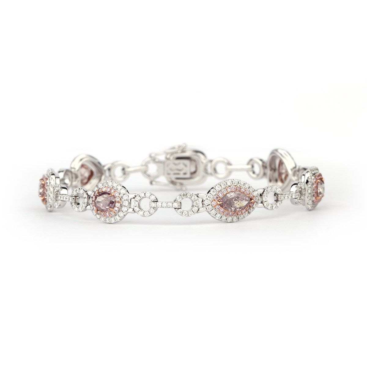 to bracelet pink purity zoom ribbon diamond hover bracelets in w by velvetcase view aakarshan