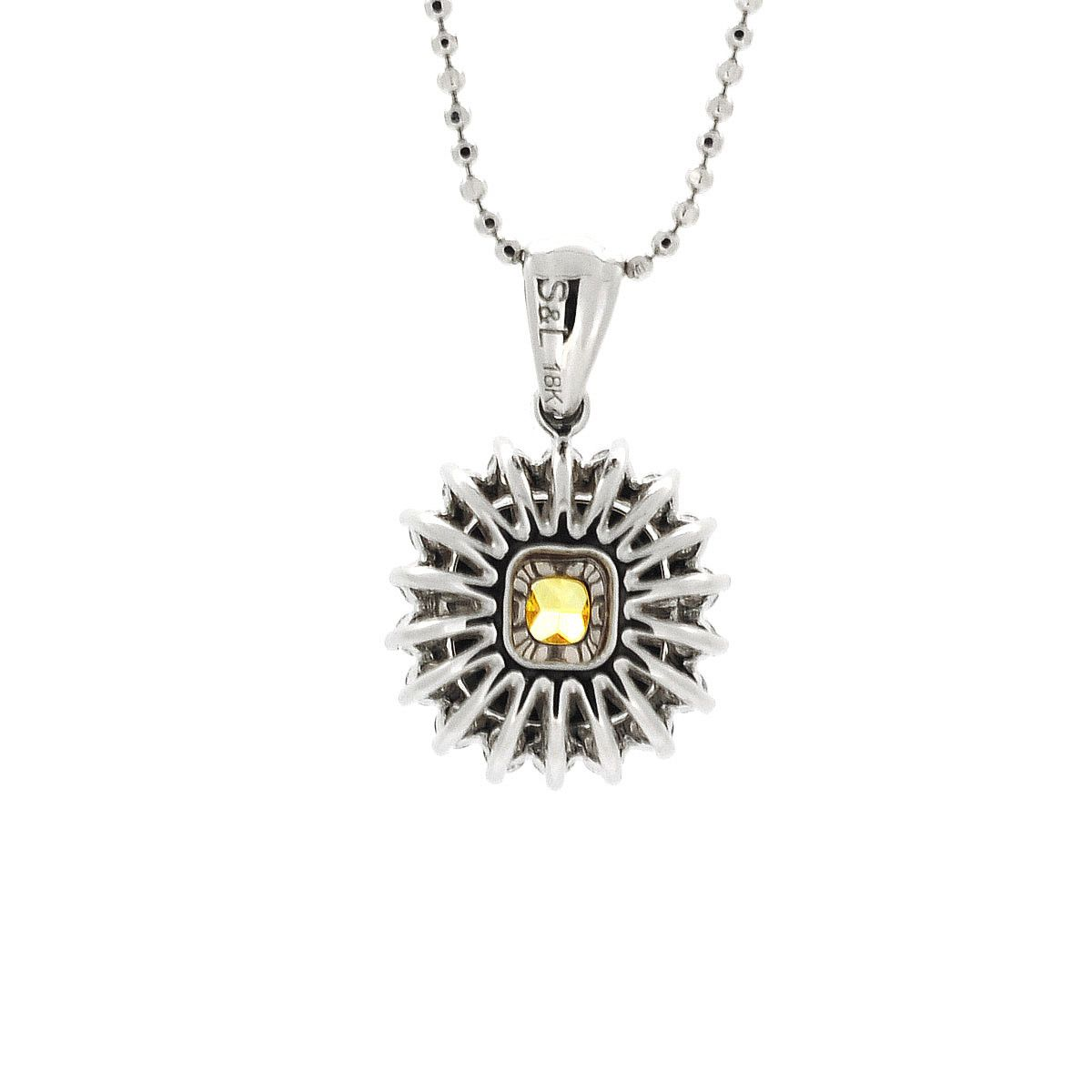 white diamond carat jewelry sapphire maytal gold products n xmp necklace