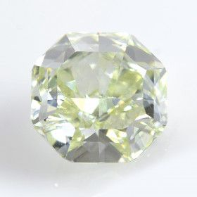 1.77 Carat, Fancy Yellow Green Diamond, Radiant shape, VS2 Clarity, GIA Certified, 2155894172