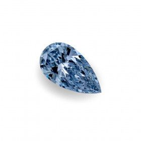 1.28 Carat, Fancy Intense Blue Diamond, Pear shape, IF Clarity, GIA Certified, 2115520474