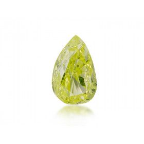 1.01 Carat, Fancy Intense Green Diamond, Pear shape, SI2 Clarity, GIA Certified, 1122956902