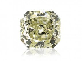 3.71 Carat, Fancy Green Diamond, Radiant shape, SI1 Clarity, GIA Certified, 17460721