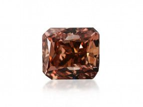 0.53 Carat, Fancy Deep Brown Diamond, Radiant shape, GIA Certified, 6177493230