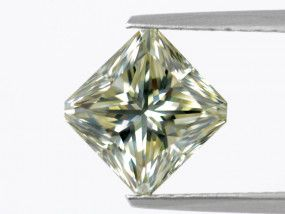 3.56 Carat, Fancy Grayish Yellow Diamond, Radiant shape, GIA Certified, 17466390