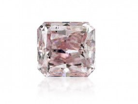 0.31 Carat, Fancy Pink Diamond, Radiant shape, SI1 Clarity, ARGYLE Certified, 7188410808