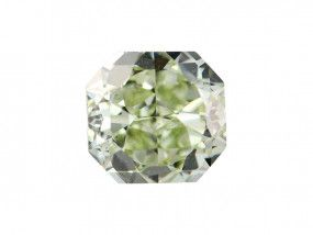 1.41 Carat, Fancy Yellow Diamond, Radiant shape, SI1 Clarity, GIA Certified, 6157449428