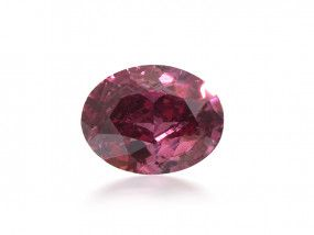 0.29 Carat, Fancy Purplish Red Diamond, Oval shape, GIA Certified, 5191984836