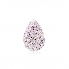 0.70 Carat, Light Pink Diamond, Pear shape, SI1 Clarity, GIA Certified, 1328958587