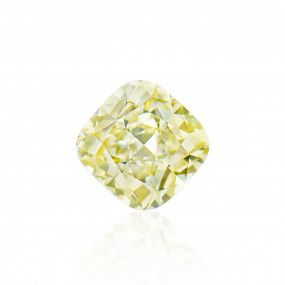 3.03 Carat, Fancy Grayish Greenish Yellow Diamond, Cushion shape, SI1 Clarity, GIA Certified, 2181264756