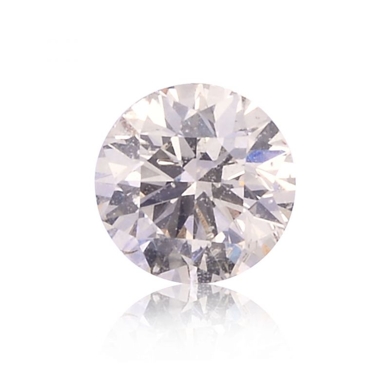 0.34 Carat, Light Brown Diamond, Round shape, SI2 Clarity, GIA Certified, 1179040659