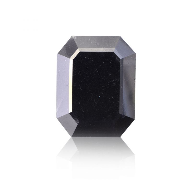 12.00 Carat, Fancy Black Diamond, Emerald shape, GIA Certified, 5172655396