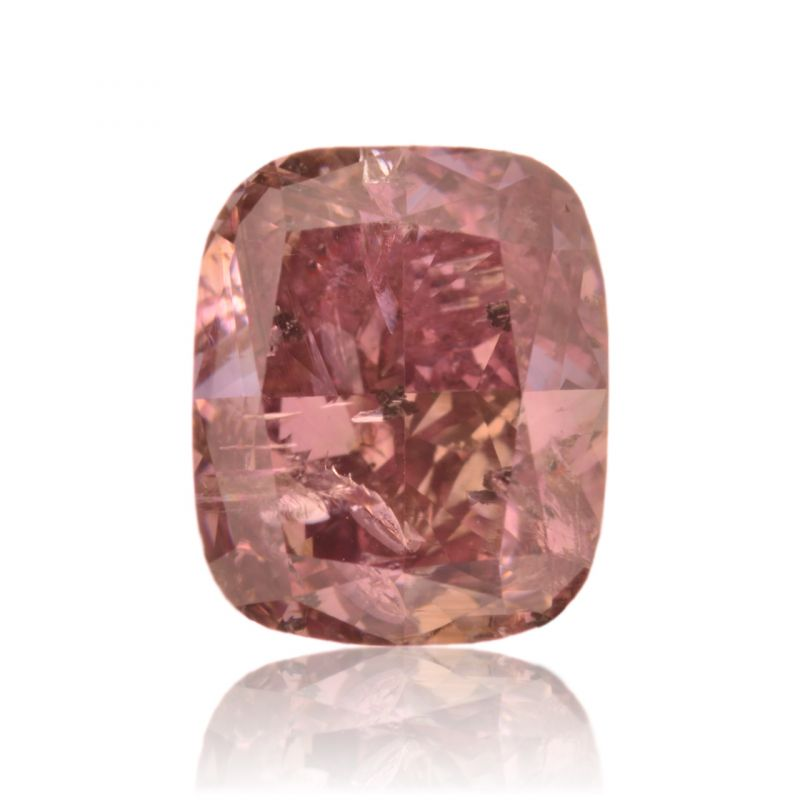2.04 Carat, Fancy Dark Brown Purple Diamond, Cushion shape, GIA Certified, 2165261280