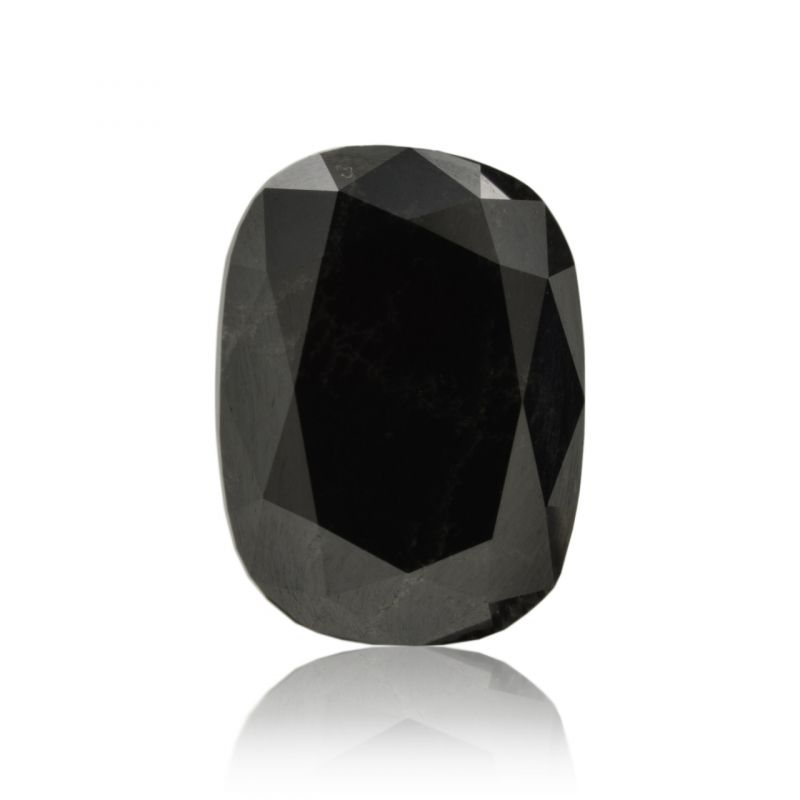 4.77 Carat, Fancy Black Diamond, Oval shape, GIA Certified, 2165446415