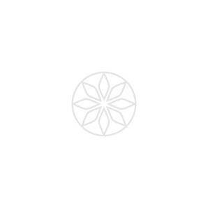 Light Pink Diamond Earrings, 0.74 Carat, Pear shape